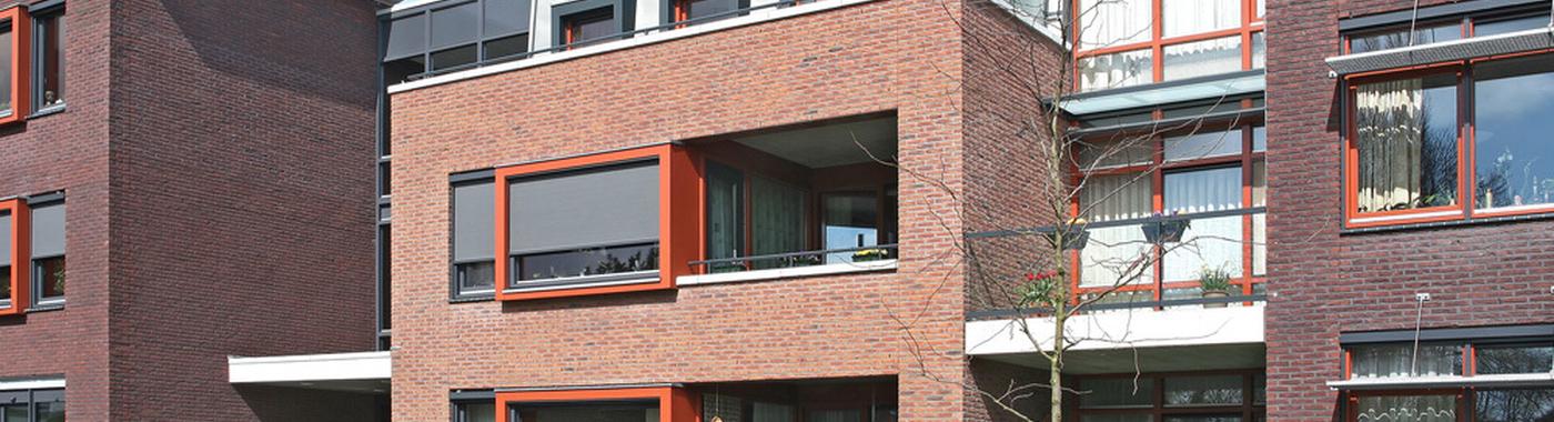 Appartementen De Witte Ruwenhofstraat Neede ingang