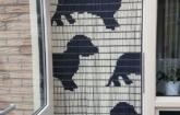 Vliegengordijn honden dagbesteding Inpakcentrale De Liemers Zevenaar