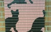 Vliegengordijn  poezen dagbesteding Inpakcentrale De Liemers Zevenaar