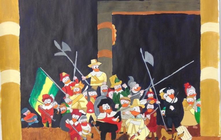 Ducks Nachtwacht Atelier Warempel