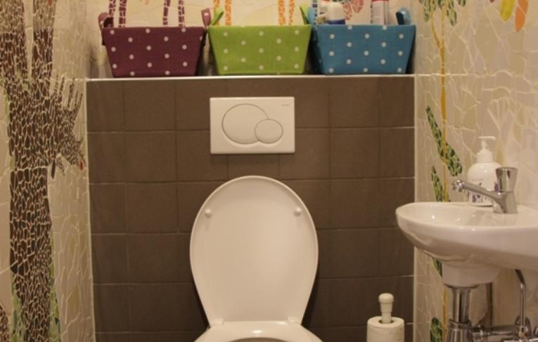 Mozaiek Toilet Atelier Aventurijn Raalte Ivoor