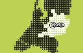 Kaart met verzorgingsgebied van Zozijn