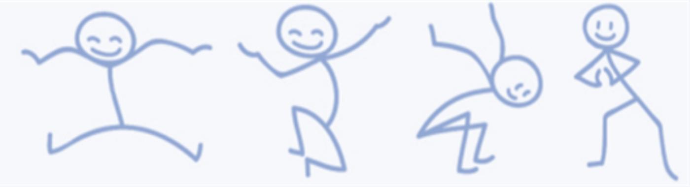 Bewegen - pictogrammen